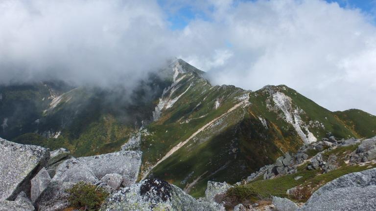 赤椰岳、空木岳