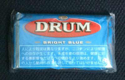 DRUM_BRIGHT_BLUE DRUM ドラム・ブライトブルー ドラム 手巻きタバコ RYO