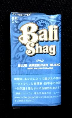 Bali Shag BLUE AMERICAN BLEND Bali Shag バリシャグ バリシャグ・ブルー・アメリカンブレンド RYO 手巻きタバコ シャグ