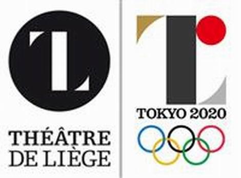 20150902_ベルギー・リエージュ劇場のロゴ(左)と2020年東京五輪の公式エンブレム(470x347)