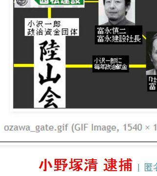 tok小野塚清 逮捕