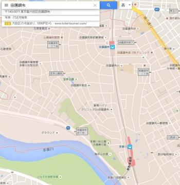 map田園調布
