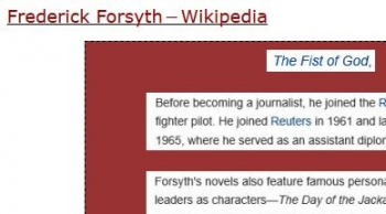tenFrederick Forsyth