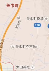 map岩手県紫波郡矢巾町