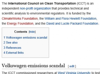 wikiInternational Council on Clean Transportation
