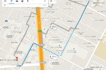 map愛知県小牧市元町3丁目119 車で十数分