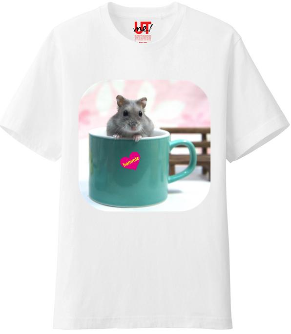 ハムスターTシャツカップ1
