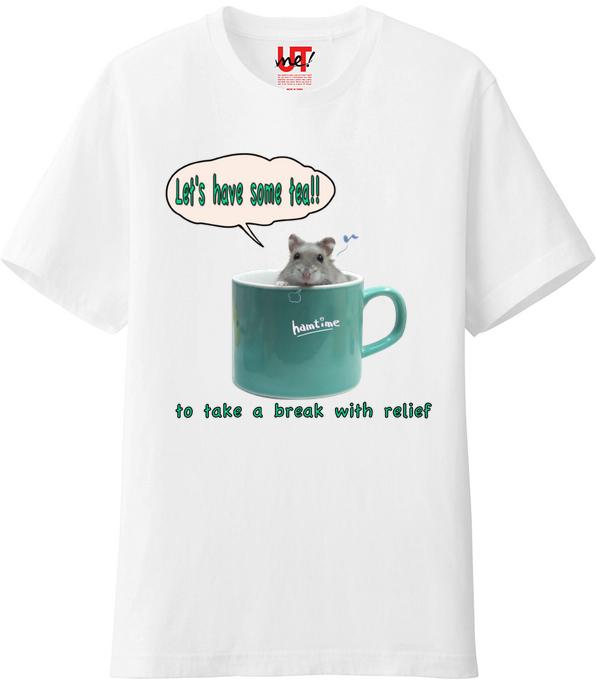 ハムスターTシャツ2