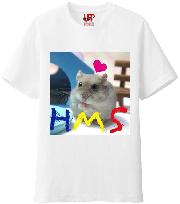 HMSハムスターTシャツ2