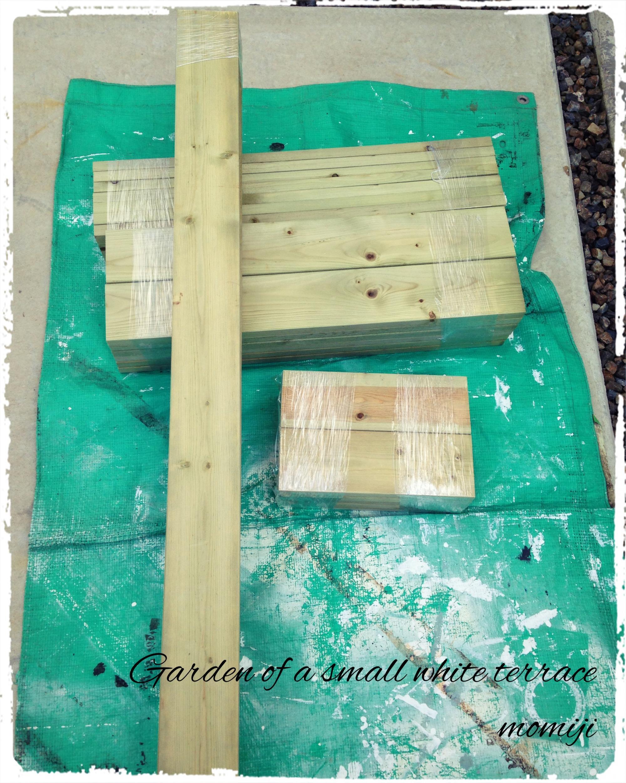 温室 木製 DIY