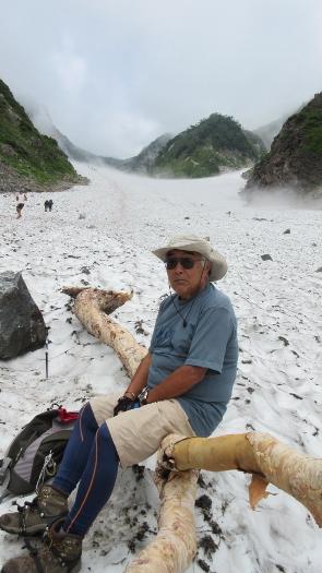 8月23日白馬大雪渓散歩 (2)