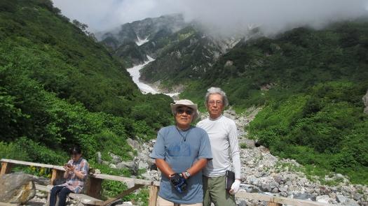 8月23日白馬大雪渓散歩 (1)