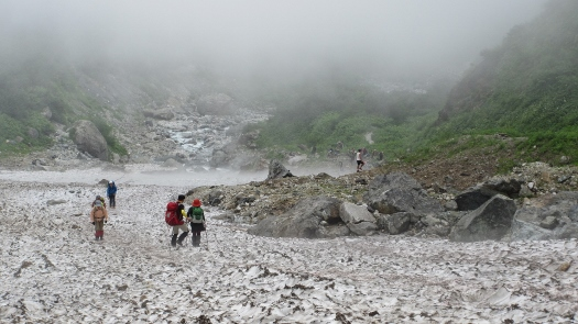 8月23日白馬大雪渓散歩 (3)