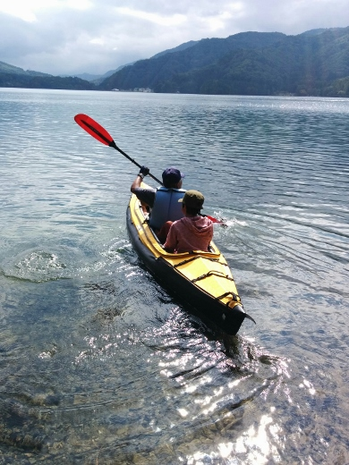 青木湖で出会ったfamily (1)