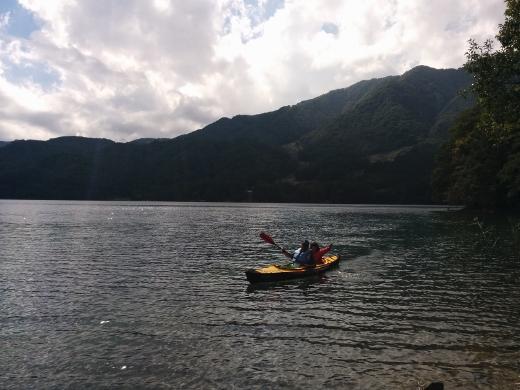 青木湖で出会ったfamily (2)