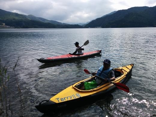 青木湖で出会ったfamily (3)
