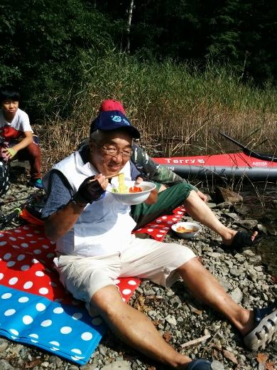 青木湖で出会ったfamily (4)