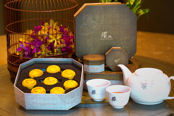 The Peninsulas Legendary Egg Custard Mooncakes 2