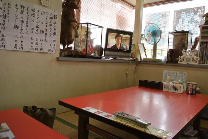 ふくや食堂@栃木市旭町 店内2