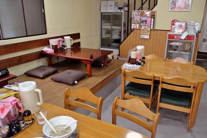拉麺うえ竹@栃木市平柳町 店内