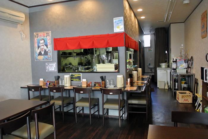 麺道 武蔵乃麺@小山市城北 店内1