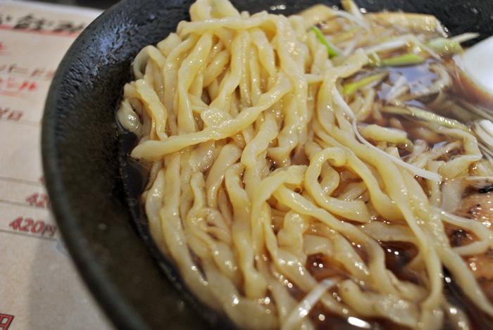 麺道 武蔵乃麺@小山市城北 淡麗黒醤油ラーメン2