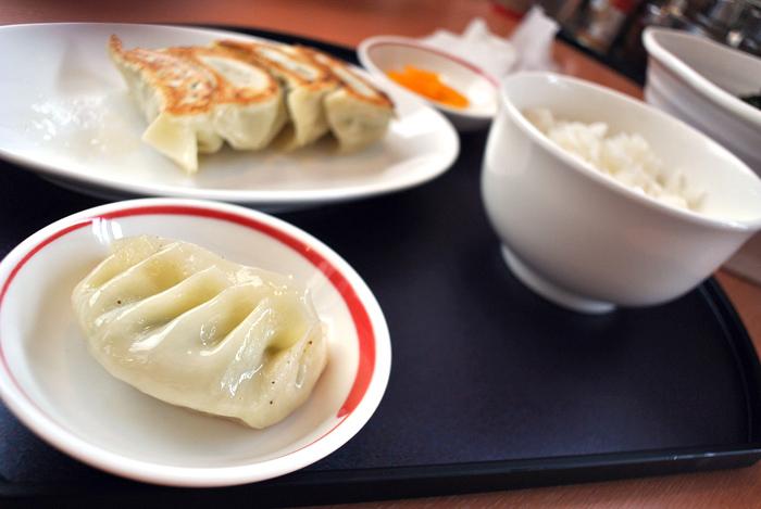 麺 まんぷく@宇都宮市峰 餃子セット