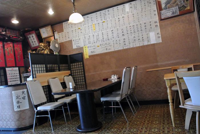 麒麟飯店@鹿沼市上野町 店内1