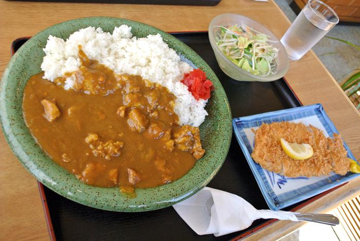 レストランにっこうや@宇都宮市氷室町 カツカレー1