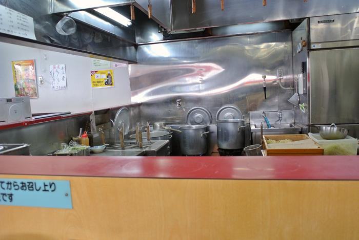 ラーメンショップ犬塚本店@小山市犬塚 厨房