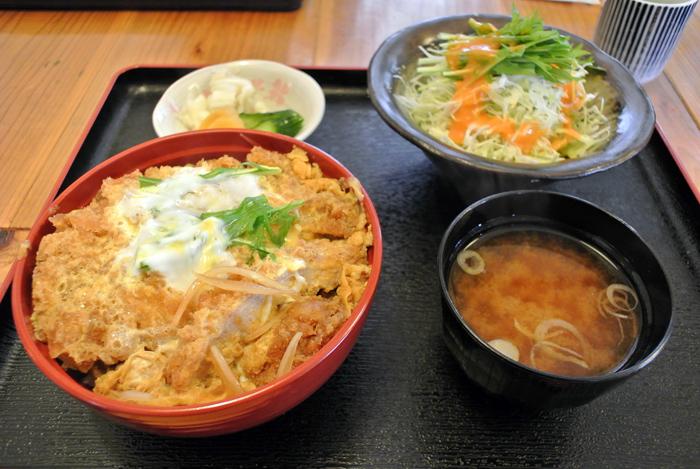 お食事処 とっちゃん@宇都宮市氷室町 かつ丼2