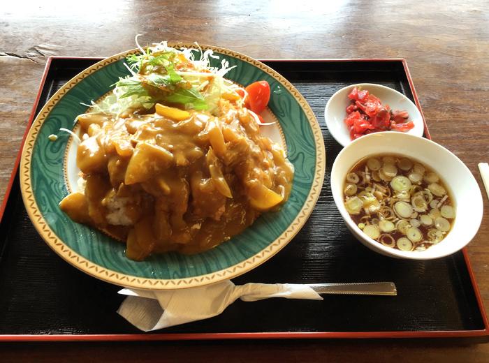 せいみや大食堂@宇都宮市鐺山町 カツカレー1