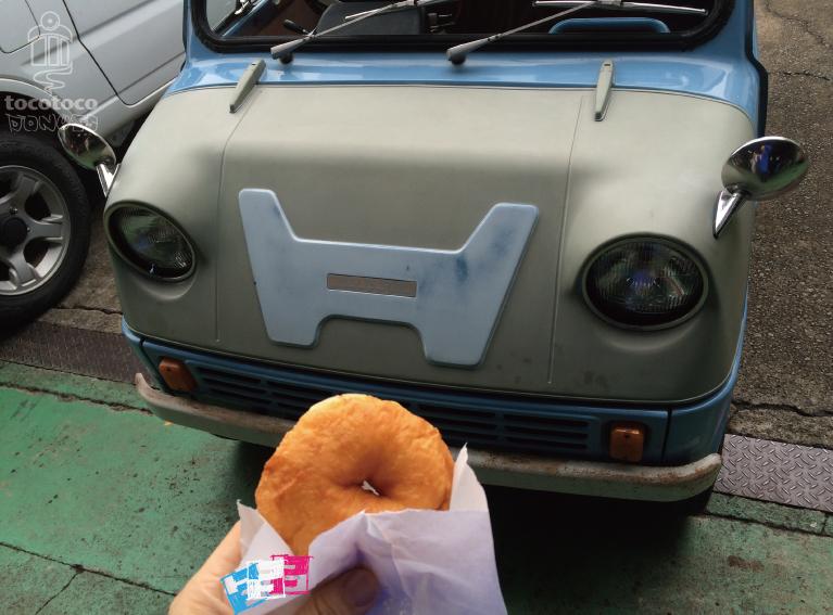 旧車とドーナツHONDA