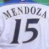 15メンドーサ背番号