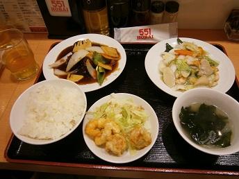 551蓬莱定食