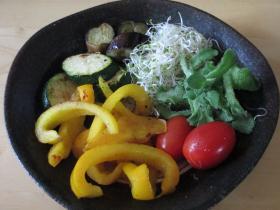 夏野菜の盛り合わせ