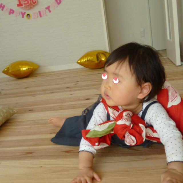 みぃちゃん1歳お誕生日お餅