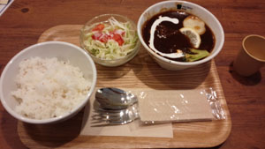 VBスープで晩御飯2