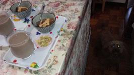 食後のおやつ わらび餅b