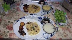 日曜日の母とご飯