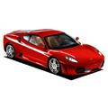 赤のフェラーリ