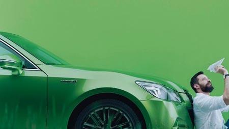 緑色のクラウン