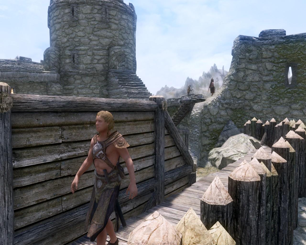 砦に屯す山賊