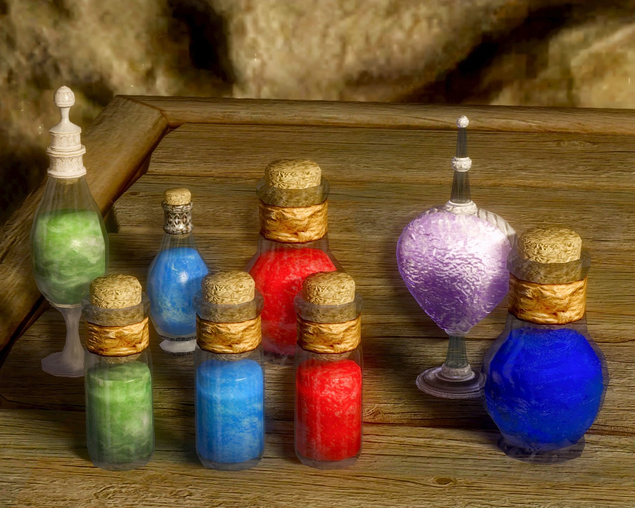04 Potion Replacer
