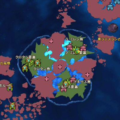 エレシュランタ要塞MAP