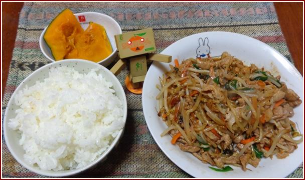 肉野菜炒め