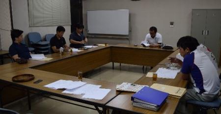 作州津山商工会久米支部青年部全体会議