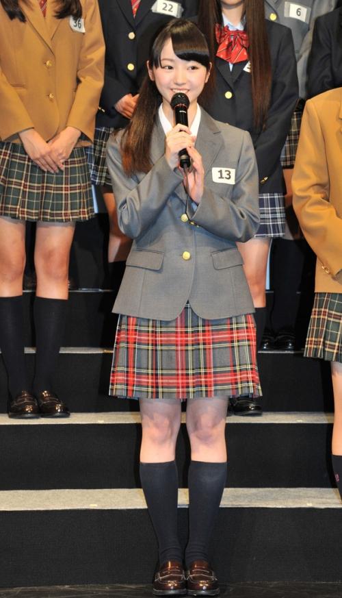 """「乃木坂46」の""""妹分"""" 結成当日にチーム名が「鳥居坂46」から「欅坂46(けやきざか)」に変更 第1期生22人も驚き7"""