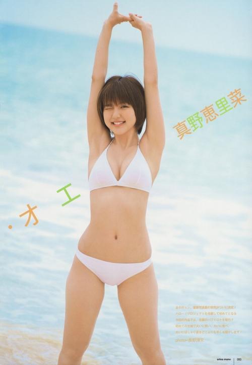 真野恵里菜「大人っぽい写真が多くて」 写真集「Escalation」で大胆な水着姿を披露3