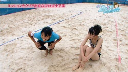 芹那のセクシーすぎる汗まみれビーチバレーがあざと可愛いと話題に 『芹那の美女と汗をかかせていただきます』5